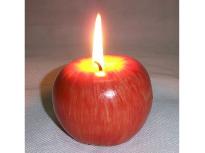 Shape apple candle  PING01