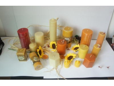 Beeswax Candle 003