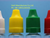 Plastic squeeze bottle screw cap