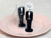 European Groom dress Wedding Candle