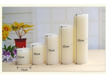 Scented pillar candle XX03