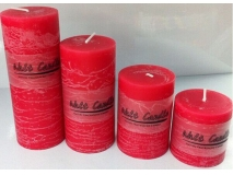 Scented pillar candle   XX01
